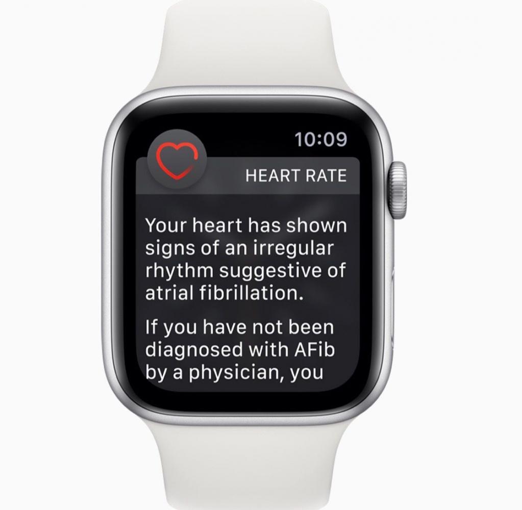 Το Apple Watch μπορεί να εντοπίσει καρδιακές αρρυθμίες
