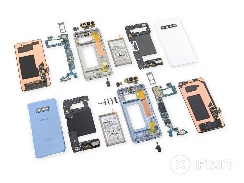Teardown αποκαλύπτει πόσο δύσκολη είναι η επισκευή των Galaxy S10
