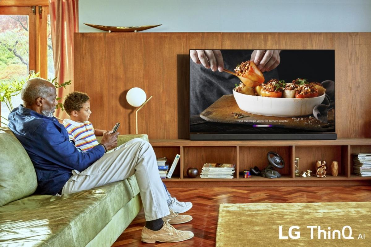 LG OLED TV 2019 με επεξεργαστή α9 Gen 2 και Deep Learning