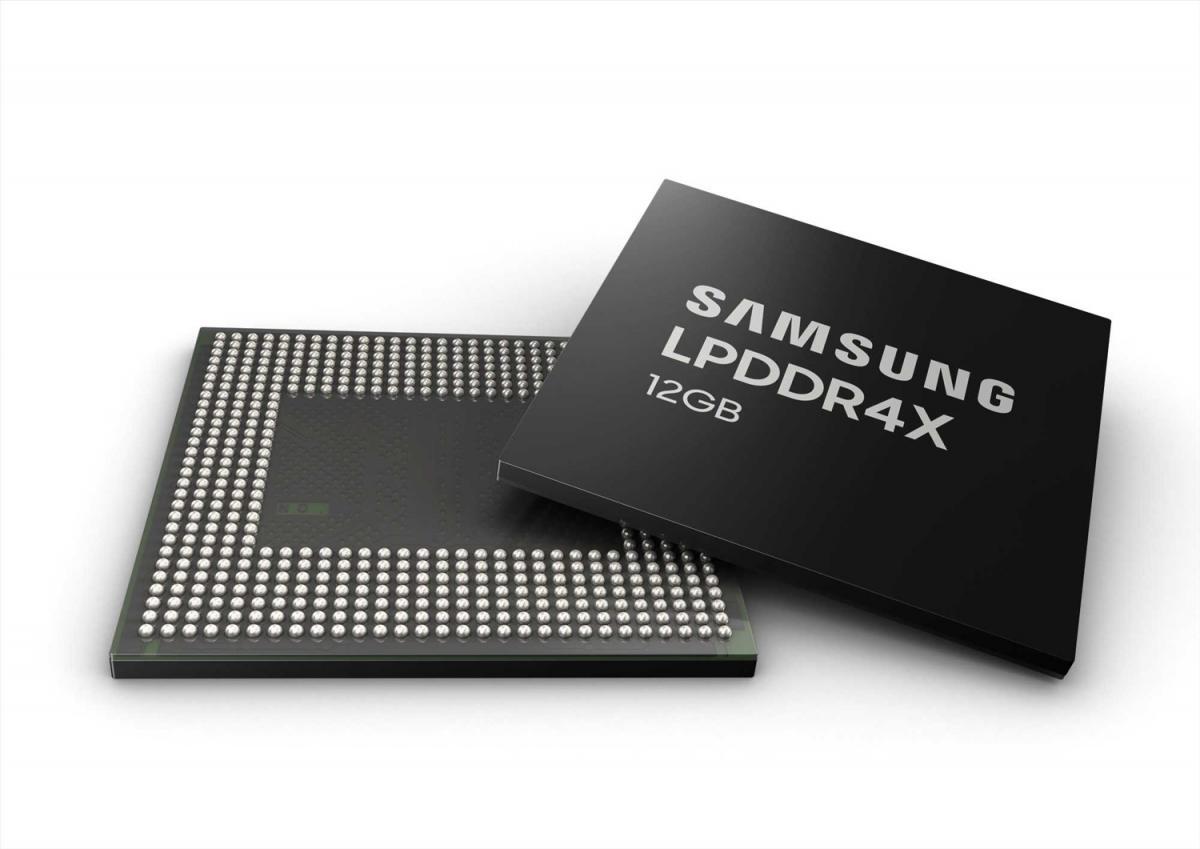 Samsung νέα μνήμη 12GB LPDDR4X