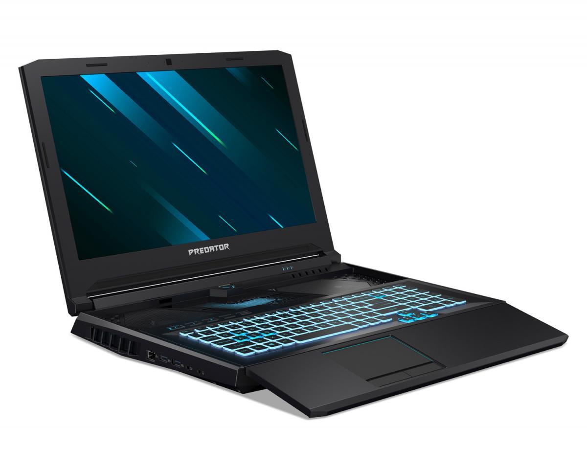 Acer Predator Helios 700: Gaming notebook με συρόμενο πληκτρολόγιο HyperDrift για βελτιωμένη ψύξη