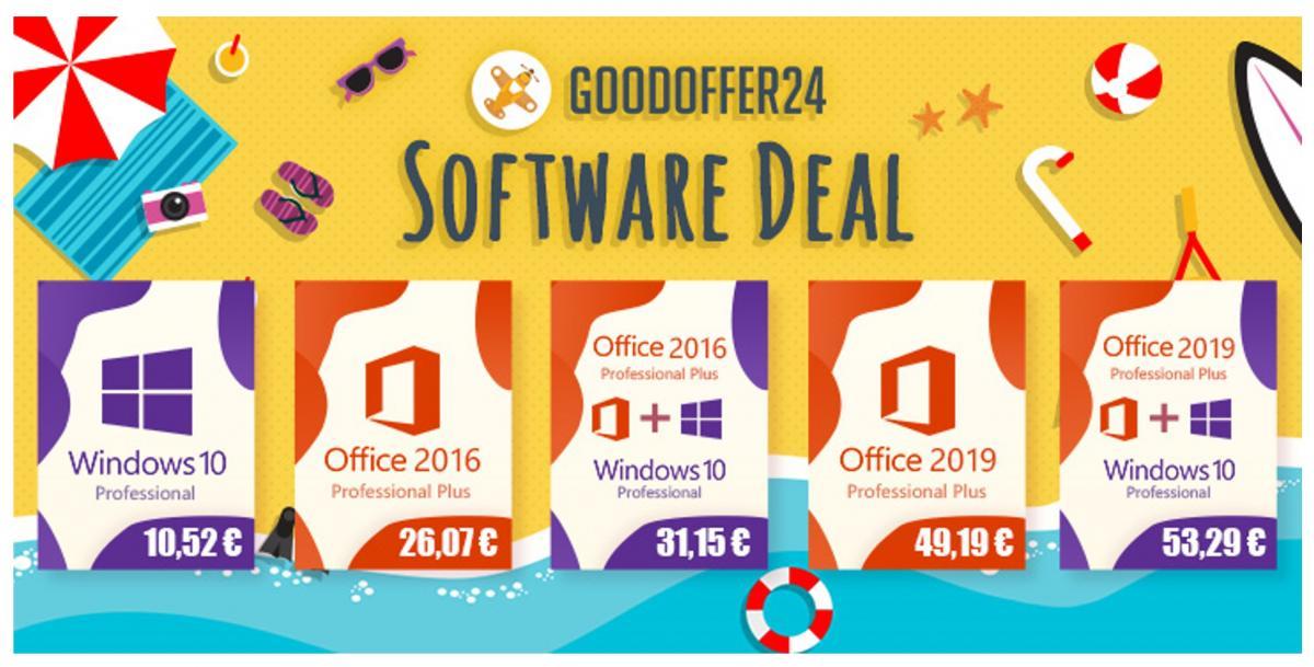 GoodOffer24: Καλοκαιρινές προσφορές σε λογισμικό με έκπτωση εως 18%