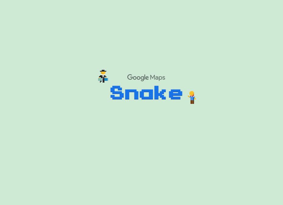 Η Google πρόσθεσε το φιδάκι στο Google Maps για την Πρωταπριλιά