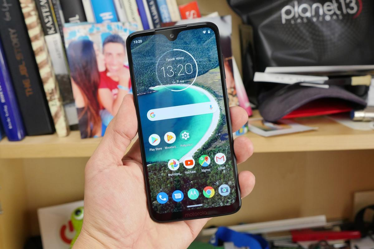 Motorola Moto G7 ελληνικό hands-on video review