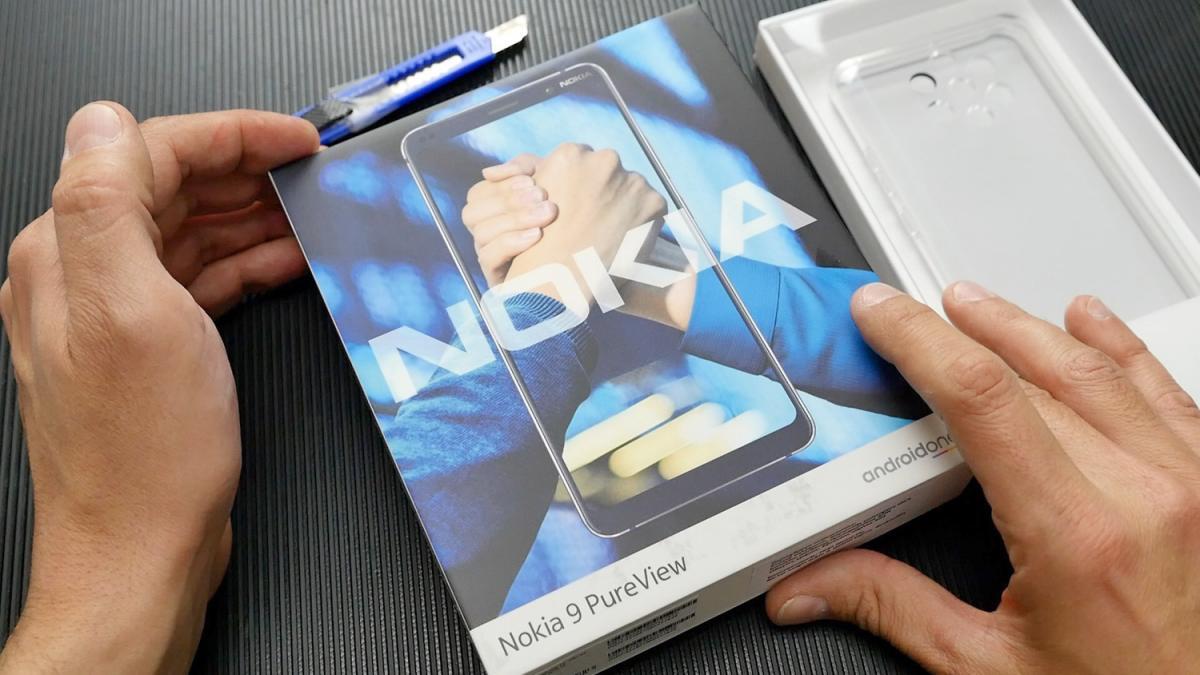 Nokia 9 PureView ελληνικό βίντεο unbox από το Techblog