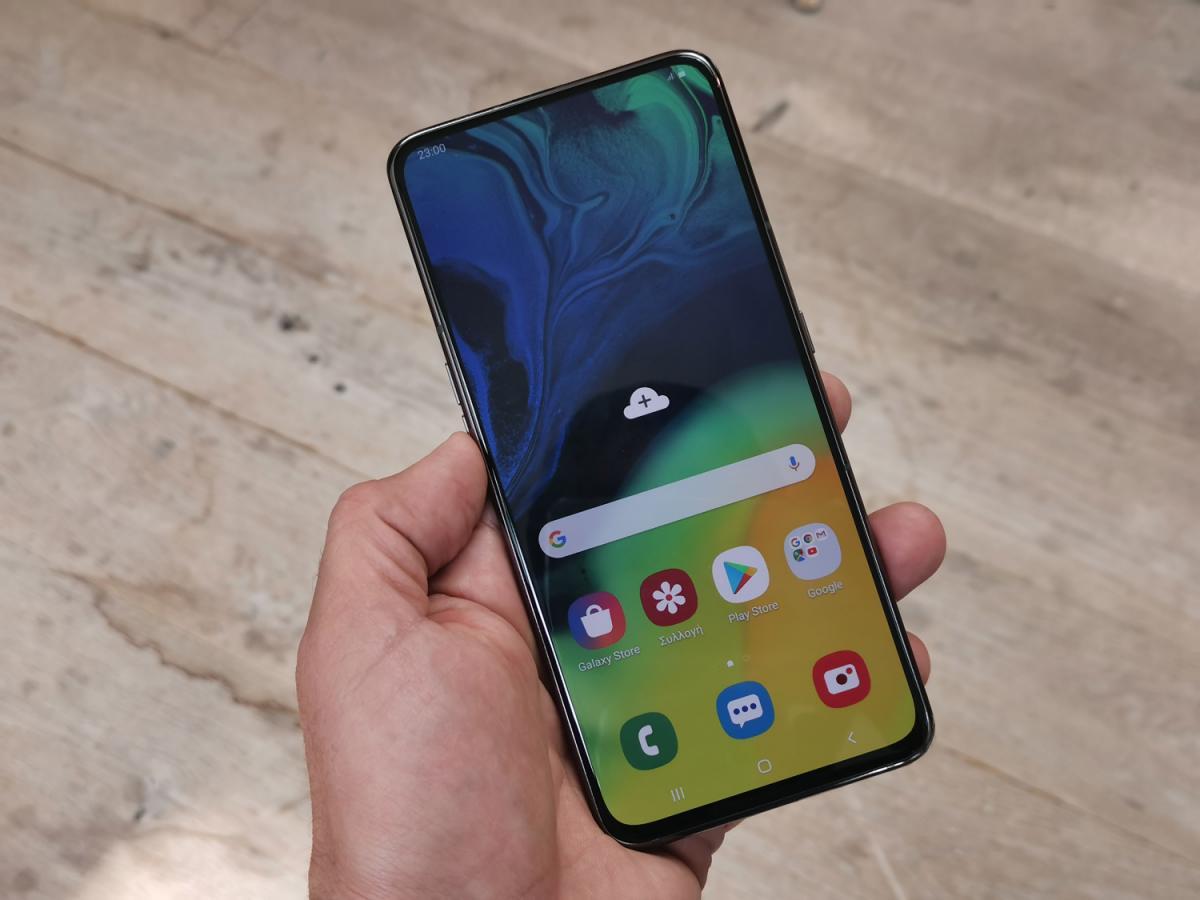Samsung Galaxy A80: Ένα γρήγορο hands-on video από το Techblog