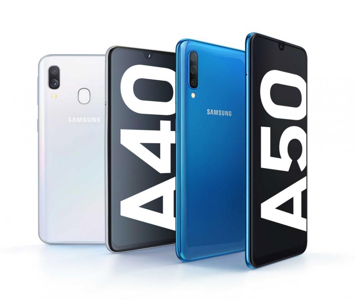 Κυκλοφόρησαν τα νέα Samsung Galaxy A40 με τιμή 279 ευρώ και Galaxy A50 με 379 ευρώ