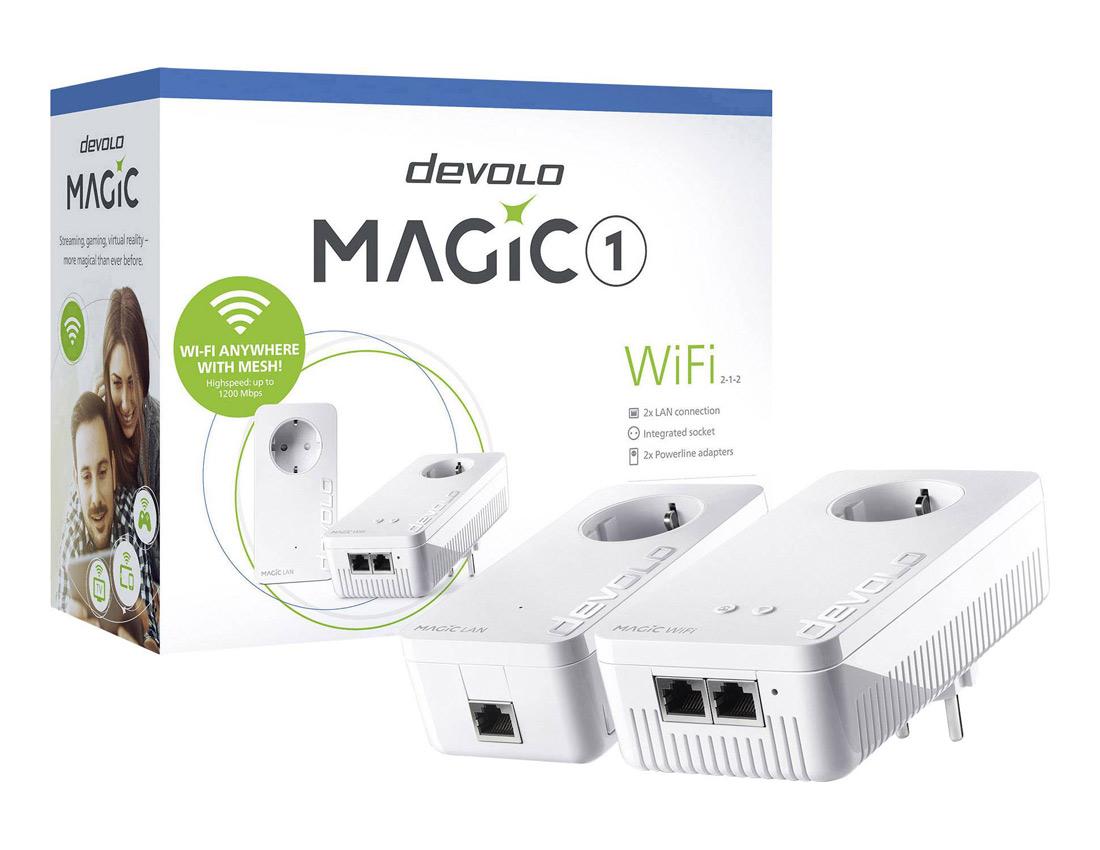 Διαγωνισμός με δώρο το devolo Magic 1 Starter Kit για ίντερνετ παντού μέσα στο σπίτι