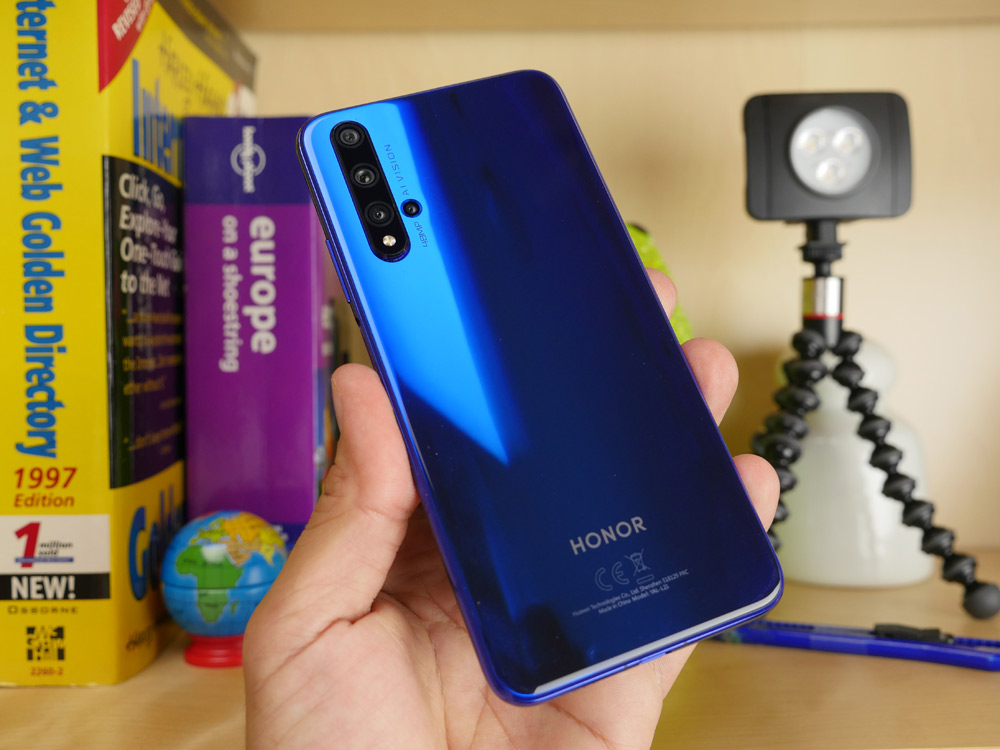 Honor 20 ελληνικό hands-on video review από το Techblog