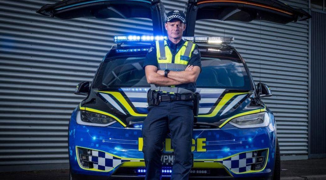 Αστυνομικό όχημα Tesla Model X θα περιπολεί στην Αυστραλία