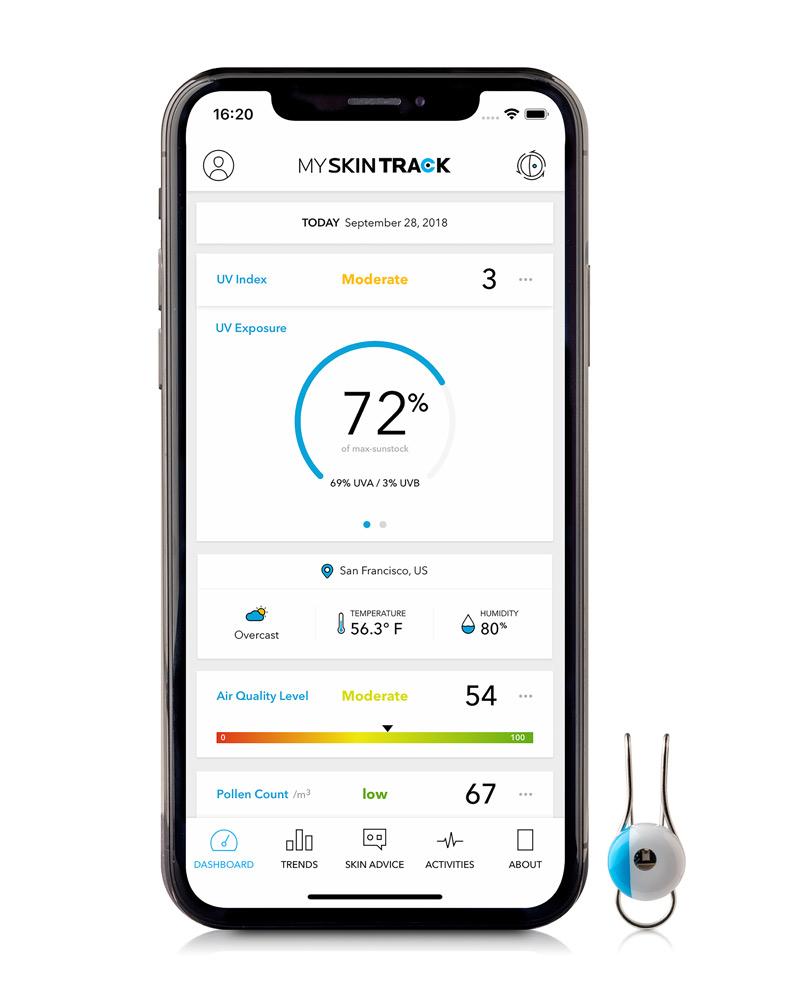 My Skin Track UV: Wearable NFC που μετράει την έκθεση στην ακτινοβολία UV