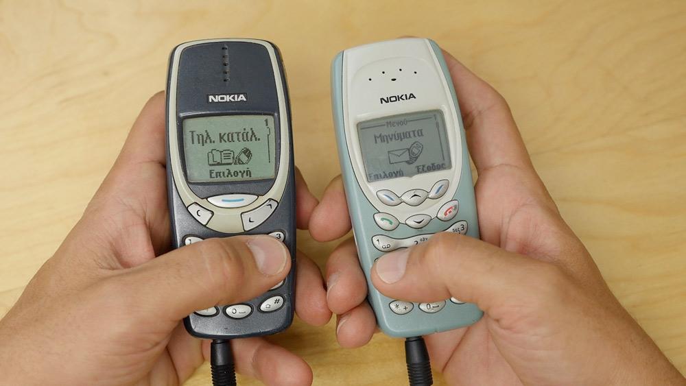 Nokia 3310 και Nokia 3410: Retro hands-on video από το Techblog