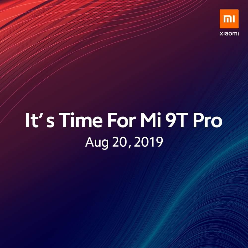 Xiaomi Mi 9T Pro: Ερχεται Ευρώπη στις 20 Αυγούστου, Ελλάδα το Σεπτέμβριο
