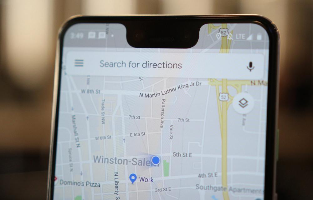 Google Maps Mixed Modes