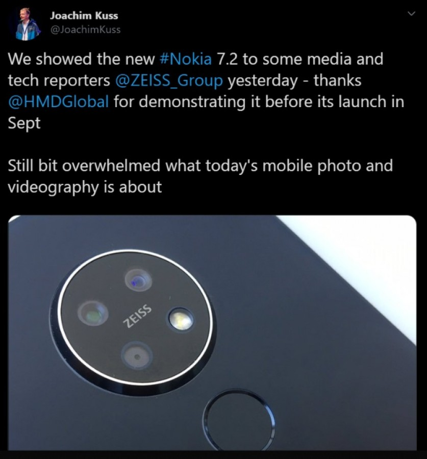 Nokia 7.2 Zeiss Event