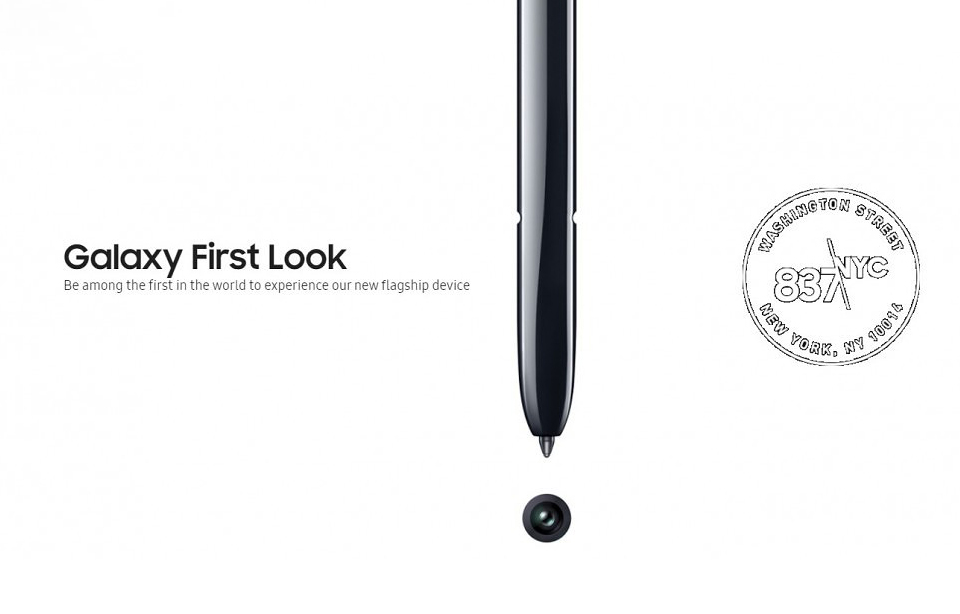 Samsung Galaxy Note 10 First Look Event Charging Confirm