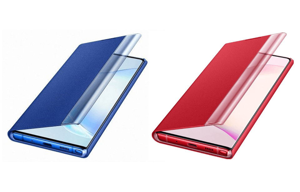 Samsung Galaxy Note 10 Renders Accessories