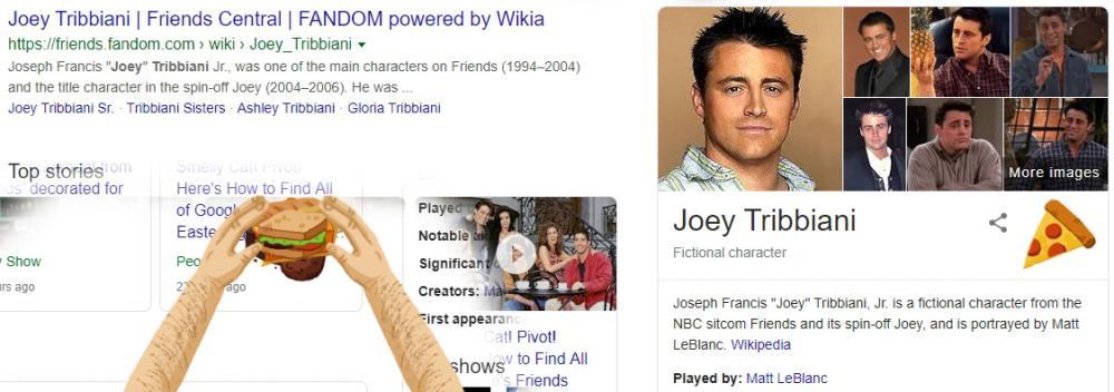 Friends Google Search