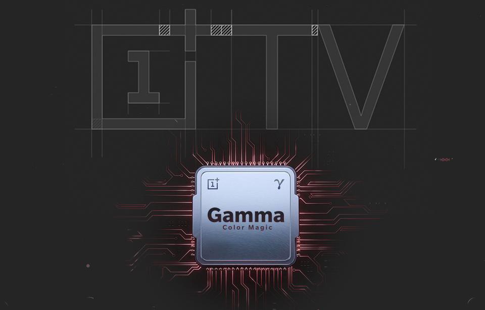 OnePlus TV Gamma Color Magic Processor