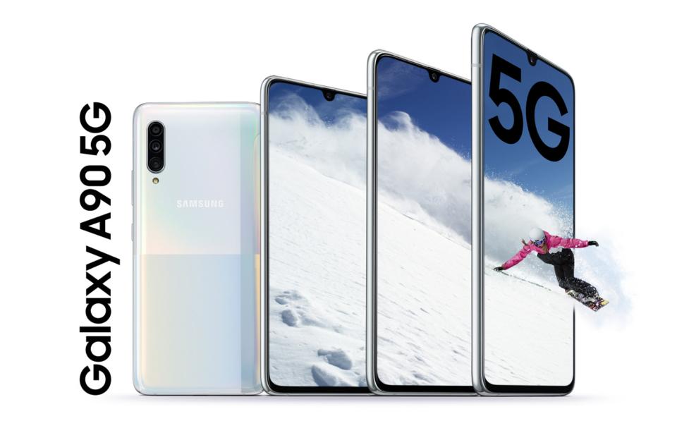 Samsung Galaxy A90 5G IFA 2019 Hand On