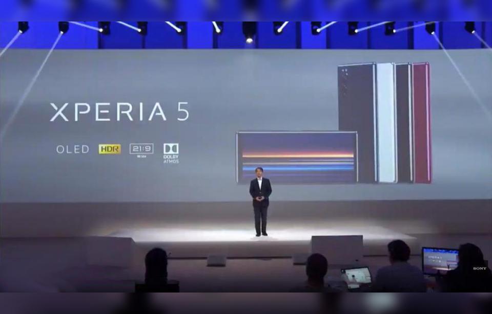 Sony Xperia 5 Teaser