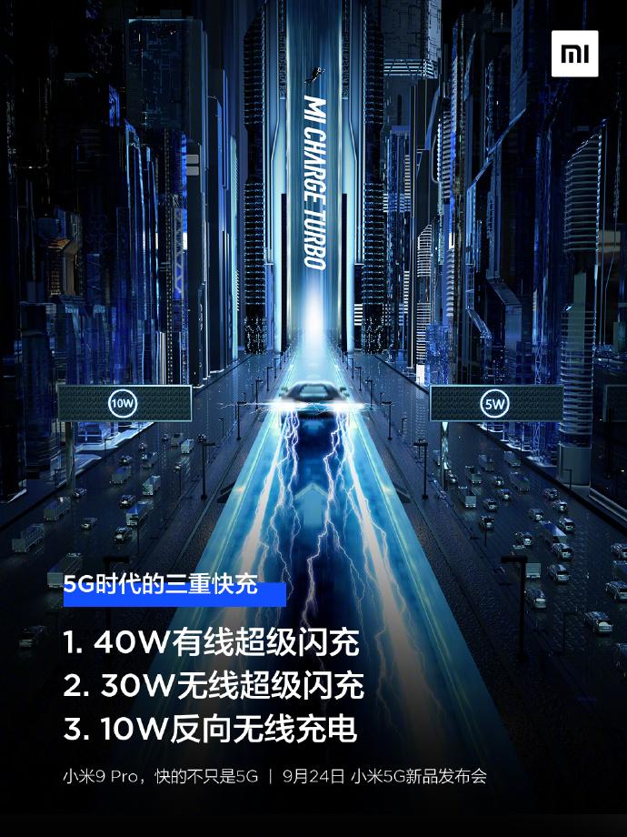 Xiaomi Mi 9 Pro 5G Charge Techs