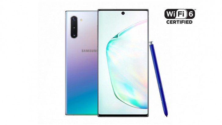 Galaxy Note 10 και Note 10+: Τα πρώτα smartphones με πιστοποίηση Wi-Fi 6