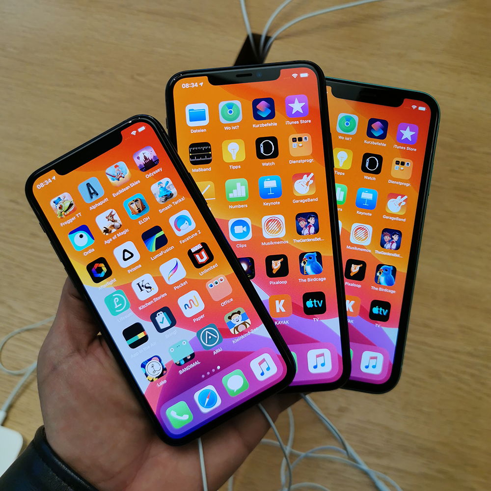 Πρώτη επαφή με τα νέα iPhone 11