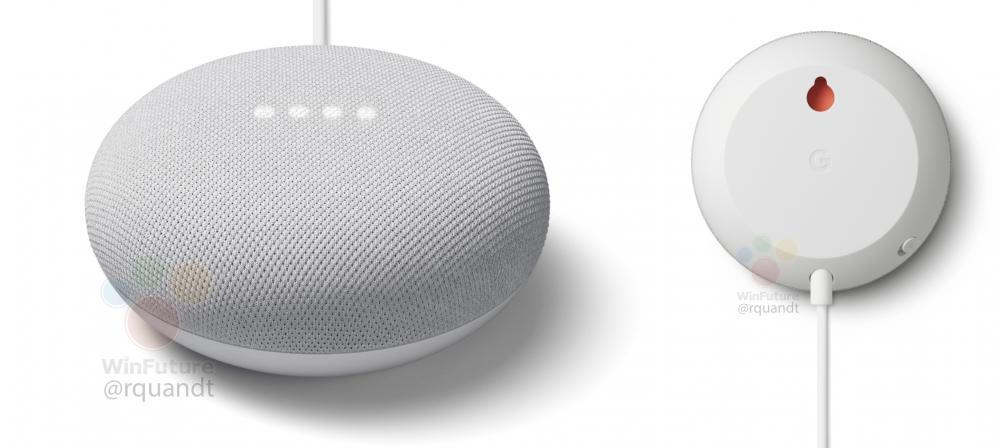 Google Nest Mini Renders