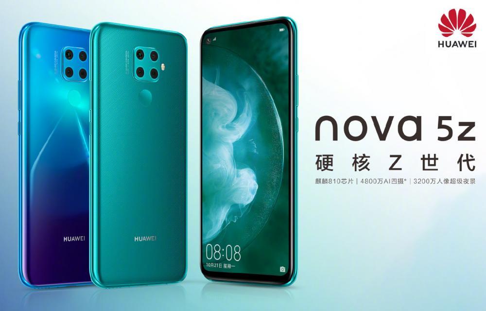 Huawei Nova 5z teaser