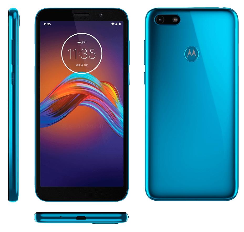 Motorola E6 Play renders