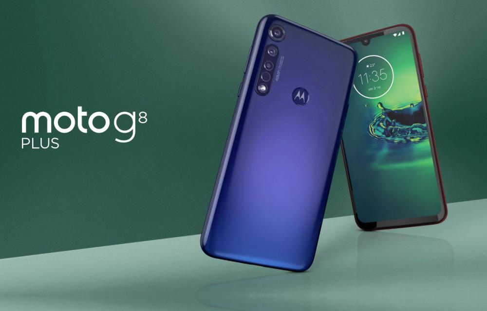 Motorola G8 Plus Official