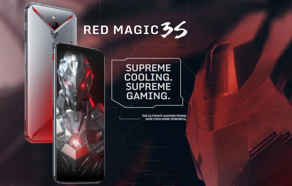 Nubia Red Magic 3S In Europe