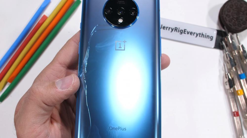OnePlus 7T Durability test jerryrig