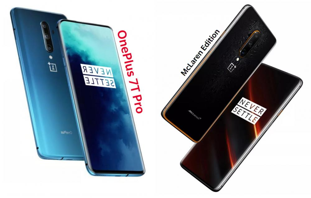 OnePlus 7T Pro and McLaren Edition official