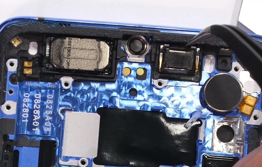 OnePlus 7T Teardown Round Module Fake