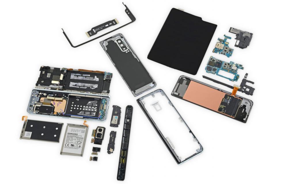 Samsung Galaxy Fold new iFixit teardown