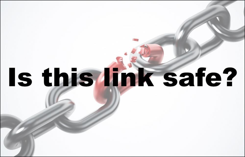 ασφαλείς συνδέσμους