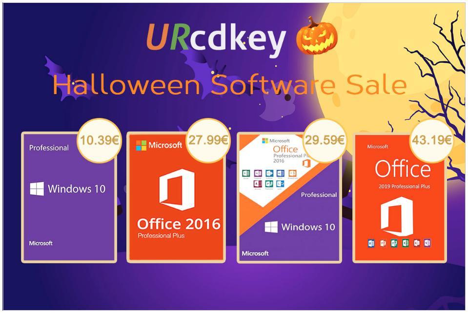 URcdkey: Προσφορές Halloween σε λογισμικό με έκπτωση έως και 86%