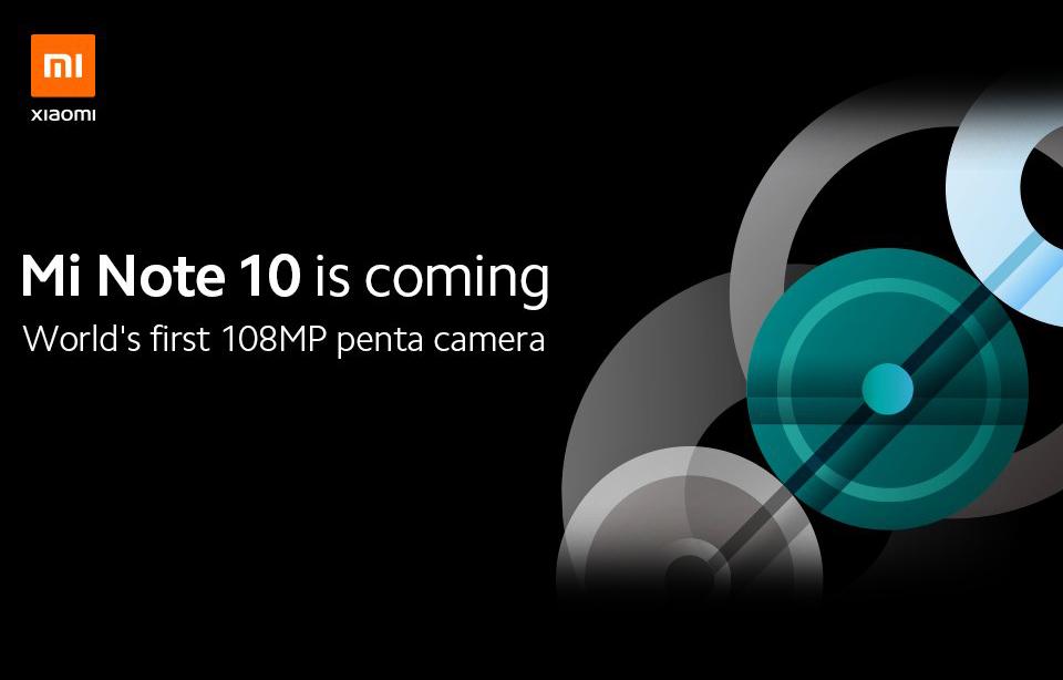 Xiaomi Mi Note 10 108MP Camera Teaser