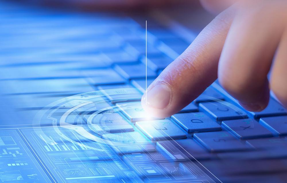 iPad 2020 screen-based touch keyboard