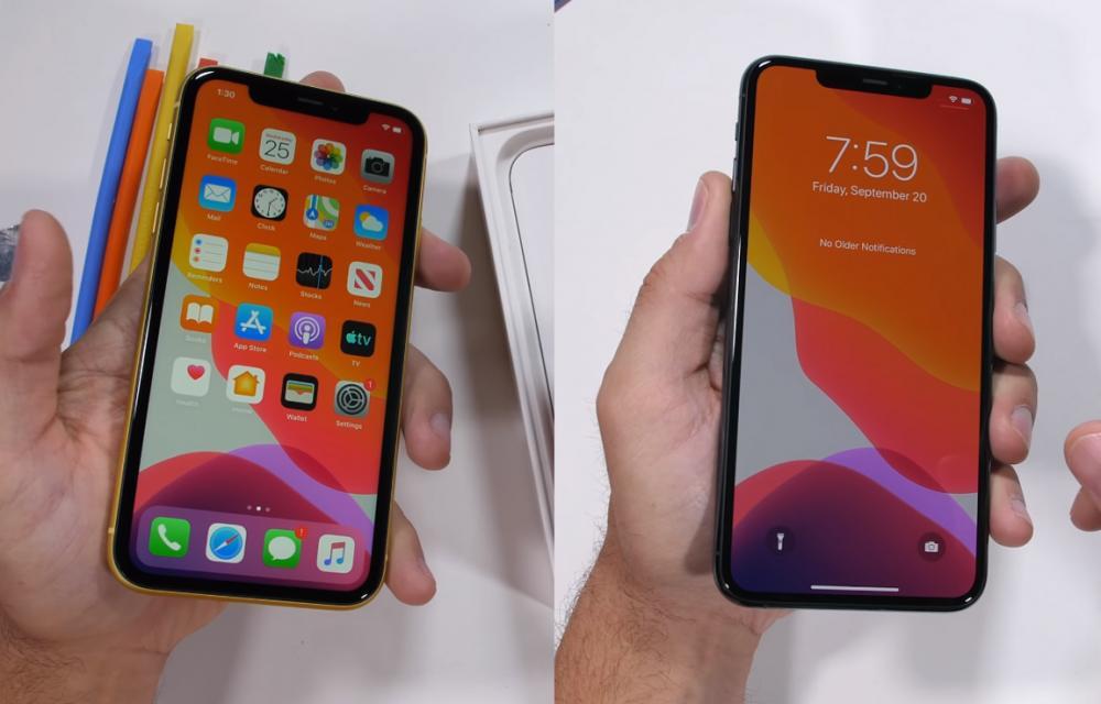 iPhone 11 vs 11 Pro Max Durability Test