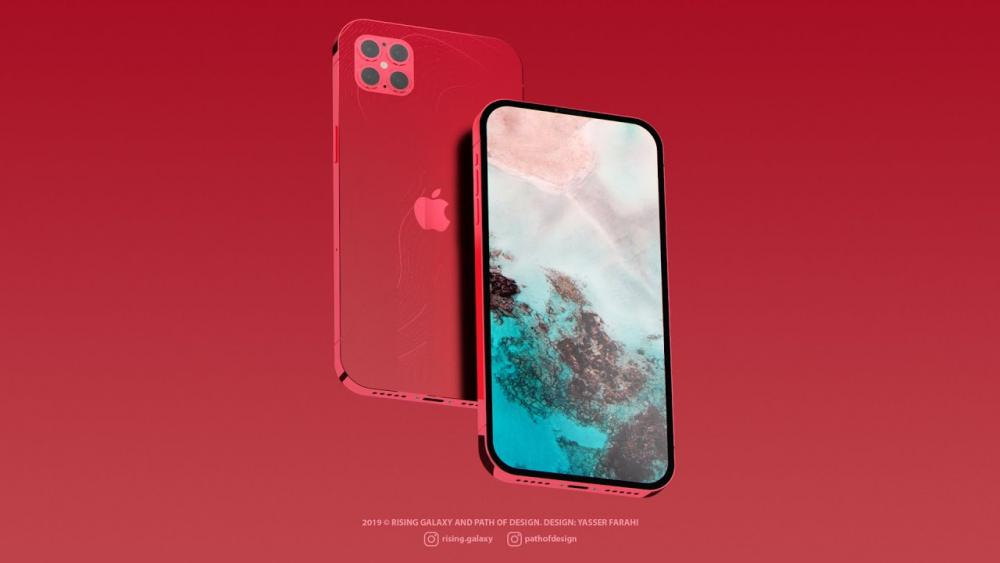 iPhone 12 Concept Pop Up Selfie Full Screen