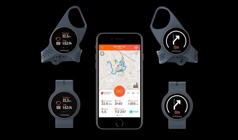 onTracks GuideWatch Mobile: Hands-free έξυπνες συσκευές GPS 3.0