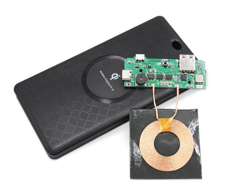 Bakeey Qi Wireless Charging DIY Power Bank Case