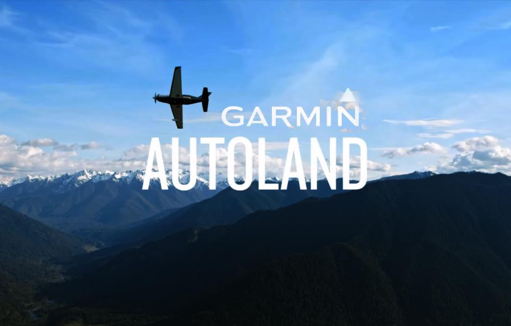 Garmin Autoland Automatic Emergency Airplane System