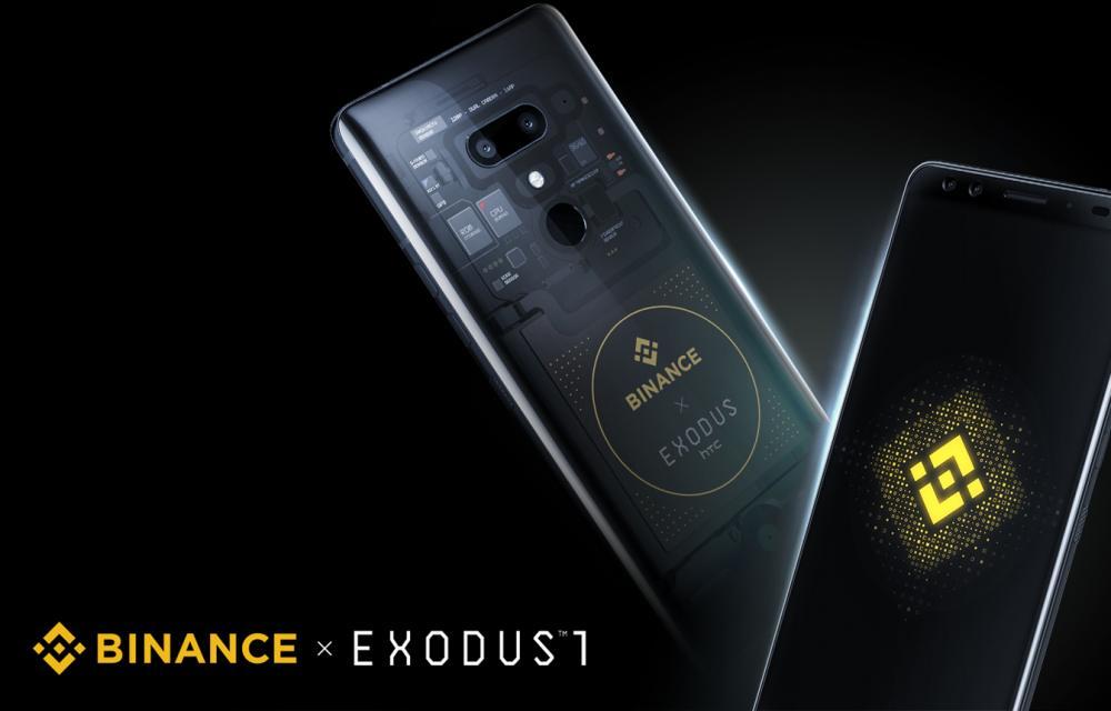 HTC Exodus 1 Binance Edition world first Binance Chain-ready smartphone