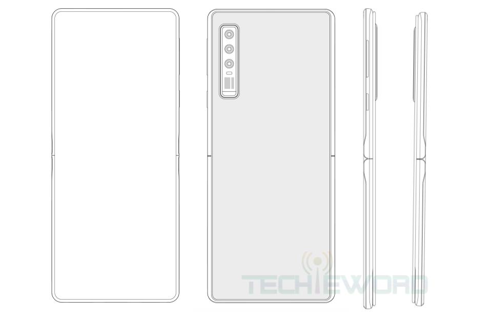 Huawei Motorola RAZR 2019 Style Foldable Smartphone