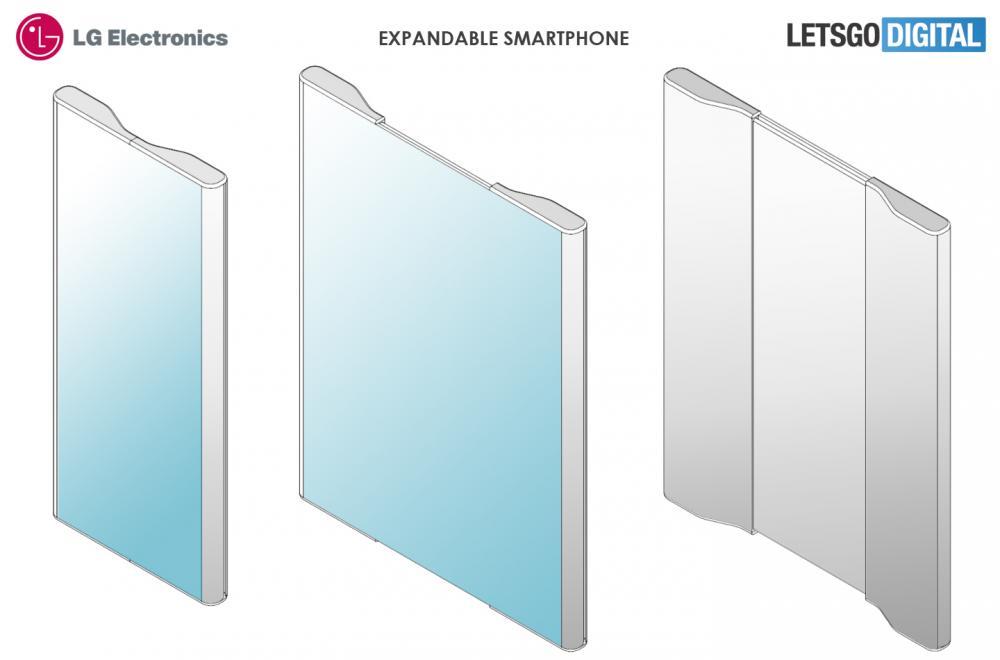 LG Extented Smartpohone Patent