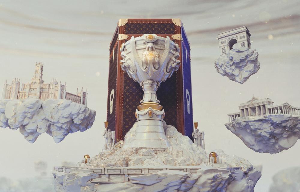 League of Legends Louis Vuitton skins World Championship Finals 2019